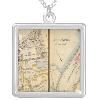 Peekskill, New York Silver Plated Necklace