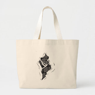 Peel away tote bag