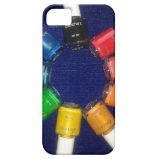 peel off nail colours iPhone 5 case