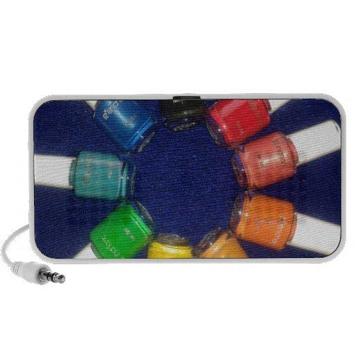 peel off nail colours iPhone speaker