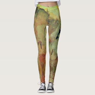 Peeling Paint in Prague leggings