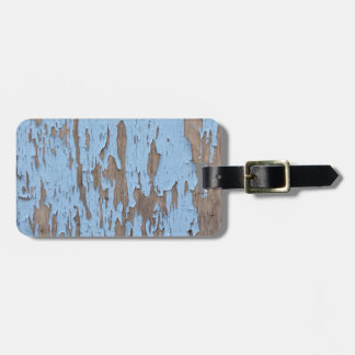 Peeling Paint Luggage Tag