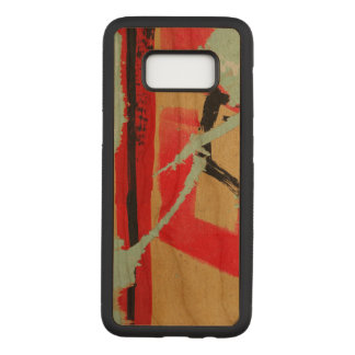Peeling Paper Art Carved Samsung Galaxy S8 Case