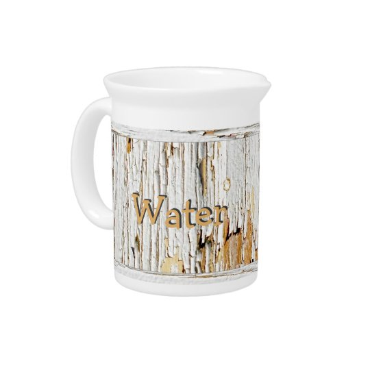 Peeling White Paint Abstract Photography Pitcher