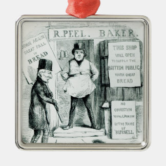 Peel's Cheap Bread Shop Christmas Ornament