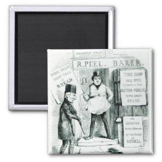 Peel's Cheap Bread Shop Magnet