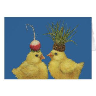 Peep couple card