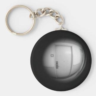 peep hole key chain