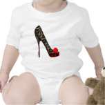 Peep Toe Platform Pump Baby Bodysuit