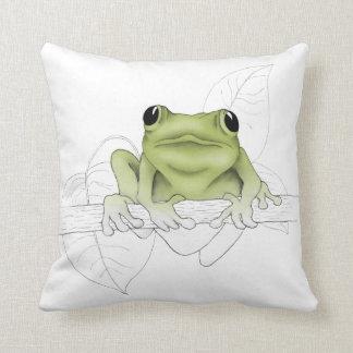 Peeper the Frog Cushion