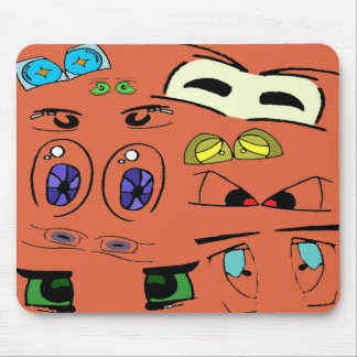 Peepers Mouse Pad
