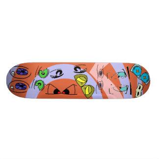 Peepers Skate Board