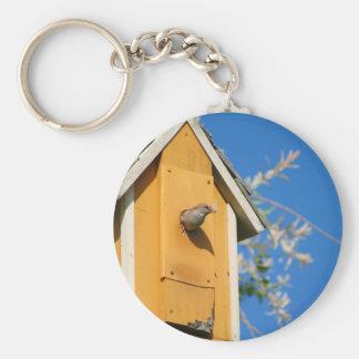 peeping Bird Keychains