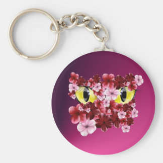 Peeping Cats Eyes Keychain