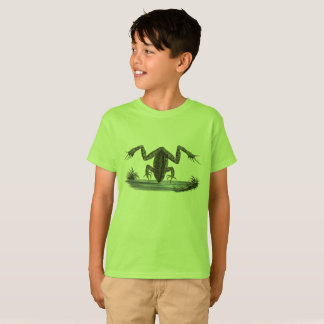 Peeping Frog Tee for Frog Lovin' Kids