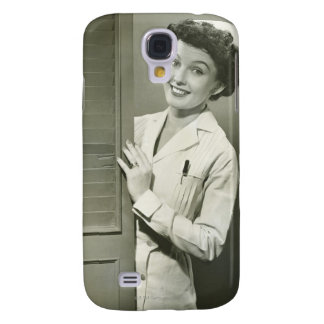Peeping Nurse Galaxy S4 Case