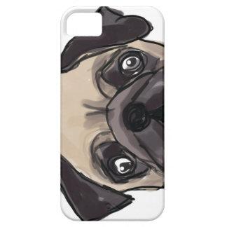 Peeping Pug Phone Case