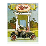 Peerless Motor Company Vintage Classic Car Ad Post Cards