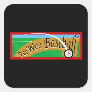 peewee baseball stickers