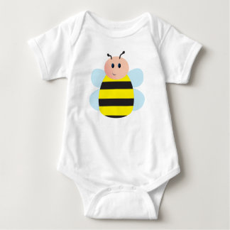 Peg Doll Cute Bee Baby Bodysuit