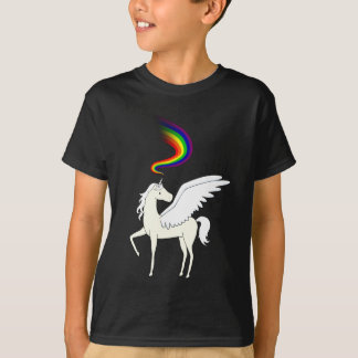 Pegacorn Rainbow Power T-Shirt