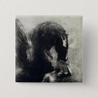 Pegasus 15 Cm Square Badge