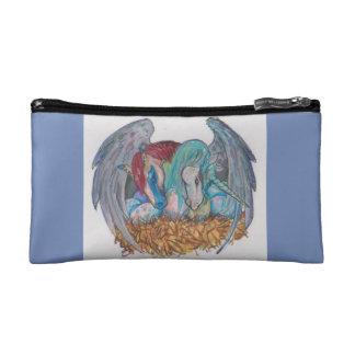 Pegasus and Unicorn Makeup Bag