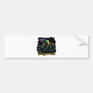 Pegasus Bumper Sticker