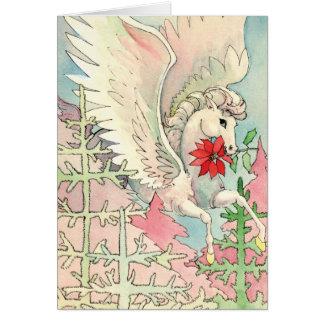 Pegasus Christmas Card