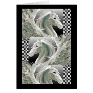 Pegasus Flight Blank Card