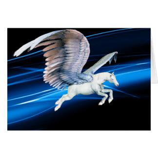 Pegasus Flight Greeting Card