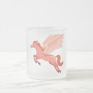Pegasus Frosted Coffee Mug 10 oz