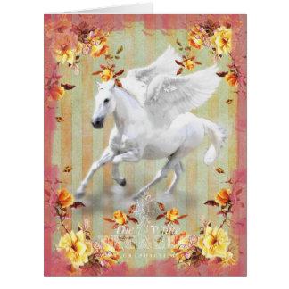 Pegasus II - Greeting Card