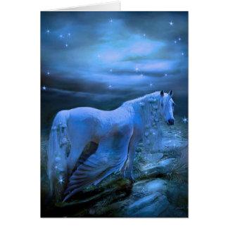Pegasus in Blue Card