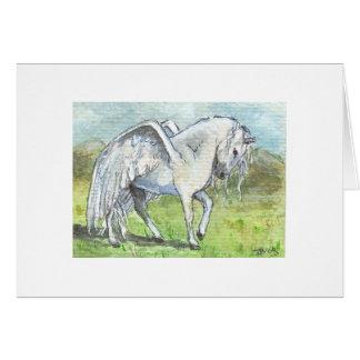 Pegasus Landed Card