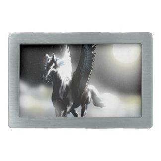 Pegasus of the Moon Belt Buckle