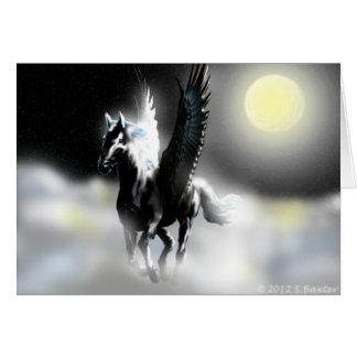 Pegasus of the Moon Card