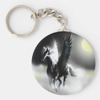 Pegasus of the Moon Key Ring