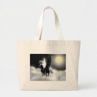 Pegasus of the Moon Large Tote Bag