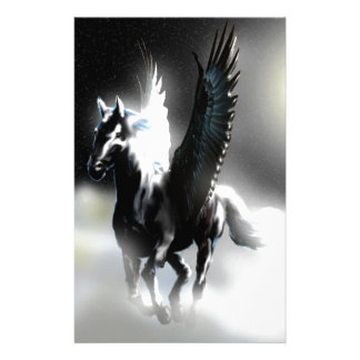 Pegasus of the Moon Stationery