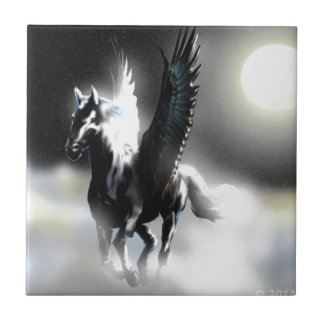 Pegasus of the Moon Tile