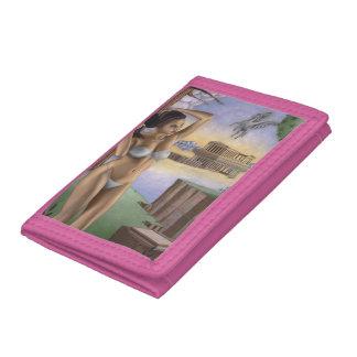 Pegasus Parthenon TriFold Nylon Wallet