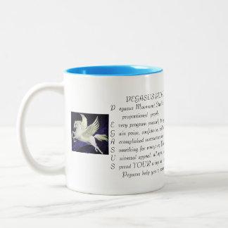 Pegasus Pilates Plus mug