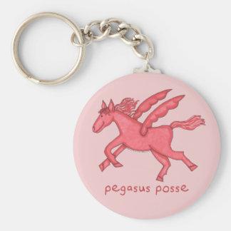 Pegasus Posse Key Ring