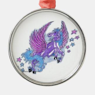 Pegasus Stars Christmas Ornament