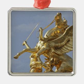Pegasus statue at the Pont Alexander III bridge Christmas Ornament