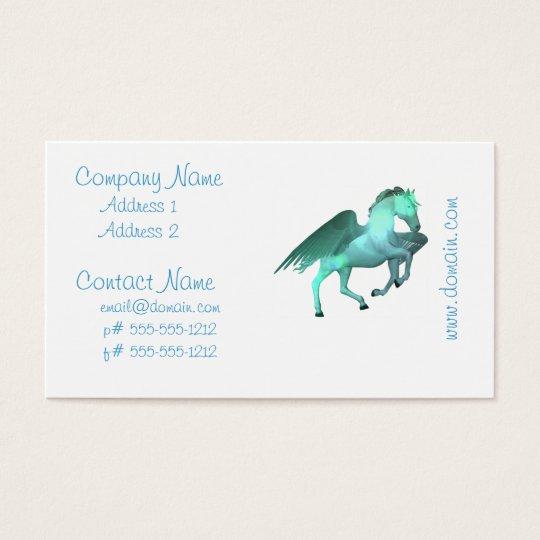 Pegasus Taking Flight Business Card