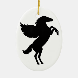 Pegasus the Winged Horse Christmas Ornament