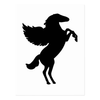 Pegasus the Winged Horse Postcard