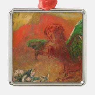 Pegasus Triumphant Christmas Ornament